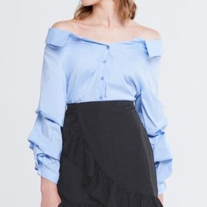 Storets - Jana Shirring Sleeves Shirt